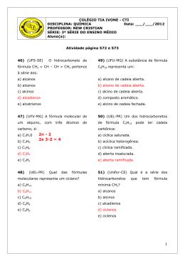 Atividade do Livro - 572 e 573