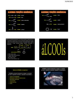 H3C OH CH2 álcool H3C O CH3 H3C OH CO H3C