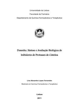 Tese- Desenvolvimento de Inibidores de Proteases de Cisteína