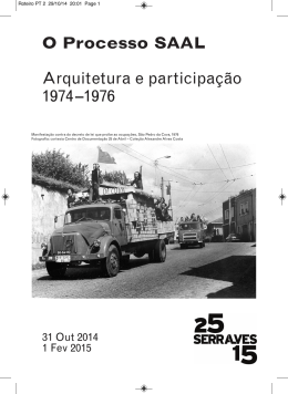 roteiro da exposição - Fundação de Serralves