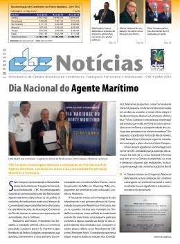 Dia Nacional doAgente Marítimo - CBC