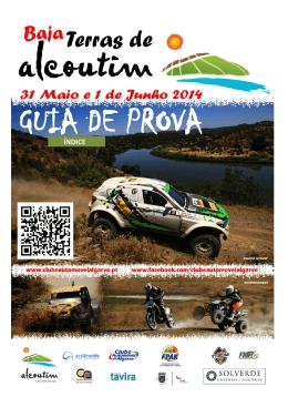 Guia de Prova - Clube Automóvel do Algarve