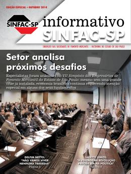 informativo - SINFAC-SP