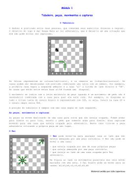 Módulo 1-1 - Clube de Xadrez de Contagem