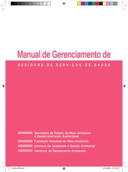 Manual de Gerenciamento de - Fundação Estadual do Meio