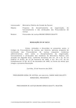 Resolução nº 34/13 - Ministério Público do Paraná