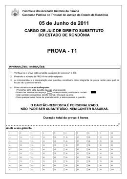 Gabarito - T1