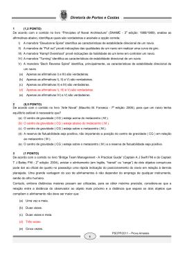 Prova Escrita 2011