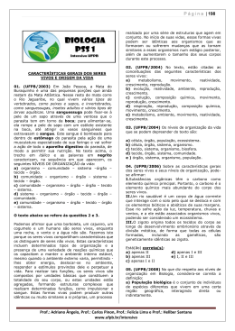Página | 198 Prof.: Adriano Ângelo, Prof.: Carlos Pinon, Prof.: Felícia