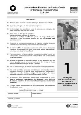 22/01/06 - Universidade Estadual do Centro