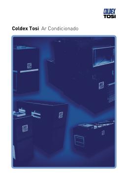 Catálogo FCTED Fan Coil Tosi Expansão Direta