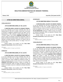 ATOS DA DIRETORIA-GERAL