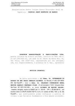Doc. 18 Representação oposta na Procuradoria Geral da
