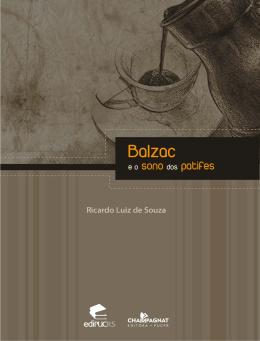 Balzac e o sono dos patifes - Editora Champagnat