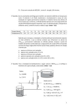 1 P1 – Prova sem consulta de ME5330 – turma B
