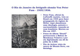 O Rio de Janeiro do fotógrafo alemão Von Peter Fuss