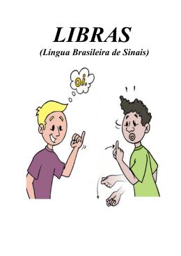 (Língua Brasileira de Sinais)