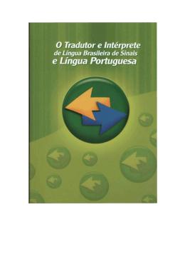 Tradutor e Intérprete da Língua Brasileira de Sinais