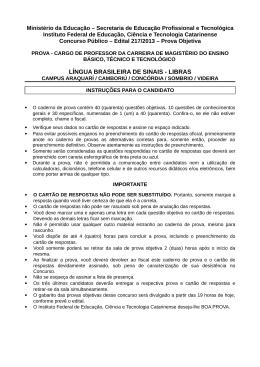 Baixar LÍNGUA BRASILEIRA DE SINAIS - LIBRAS