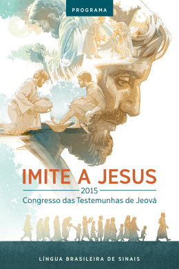 Congresso Regional 2015 - Língua Brasileira de Sinais
