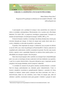 Mário Fabrício Fleury Rosa - XI Congresso Luso Afro Brasileiro de