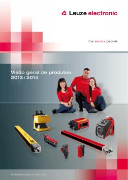 Visão geral de produtos 2013 / 2014