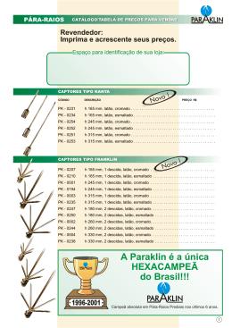 A Paraklin é a única HEXACAMPEÃ do Brasil!!!
