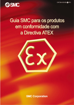 Guia SMC para os produtos em conformidade com a Directiva ATEX