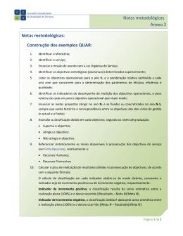 Notas metodológicas Anexo 2 Notas metodológicas