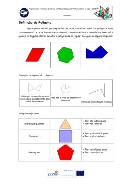 Classificação de polígonos