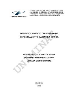 uniminas - Lopes & Gazzani Planejamento Ltda