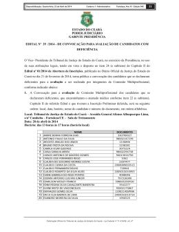 11 estado do cear poder judici rio gabinte presid ncia edital n 29