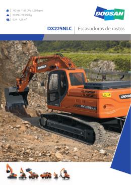 DX225NLC | Escavadoras de rastos