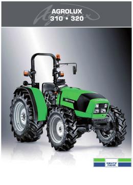 AGROLUX 310 • 320