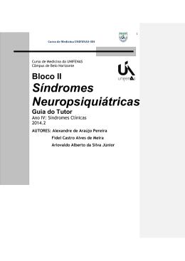 Plano de ensino - Sindromes neuropsiquiatricas