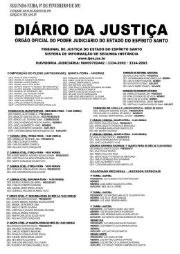 Word Pro - 07022011.lwp - Tribunal de Justiça do Espírito Santo