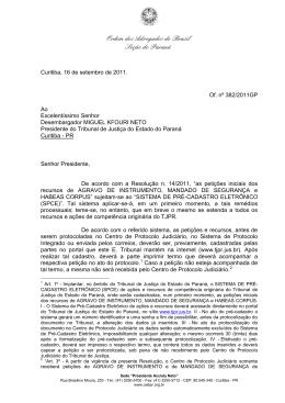 Ordem dos Advogados do Brasil Seção do Paraná