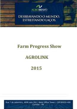 Farm Progress Show AGROLINK 2015