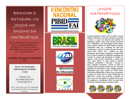 Folder do projeto - FAI - Faculdades Adamantinenses Integradas