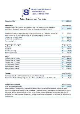 Tabela de Serviços 2013 - pdf