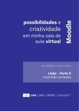 Lição - UnB - Universidade de Brasília