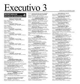 Executivo 3 QUARTA-FEIRA, 20 DE FEVEREIRO DE 2008