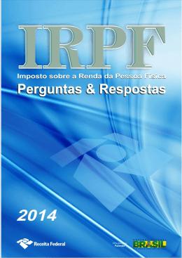 Perguntas e Respostas - IRPF - 2014 - Receita Federal