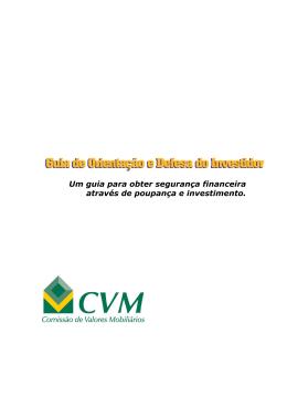 Manual do Invetidor - CM Capital Markets