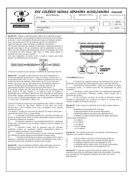 Evandro - 1ª série EM - Biologia