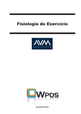 Fisiologia do Exercício - N - Ambiente Virtual de Aprendizagem