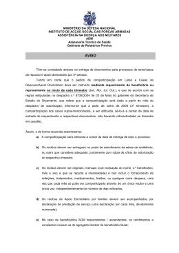MINISTÉRIO INSTITUTO DE ACÇÃO