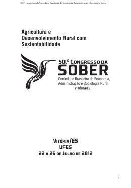 50.º Congresso da Sociedade Brasileira de Economia