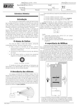 Modelos Atômicos - Projeto Rumo ao ITA