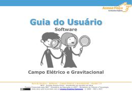 Guia do Usuário - Ministério da Educação